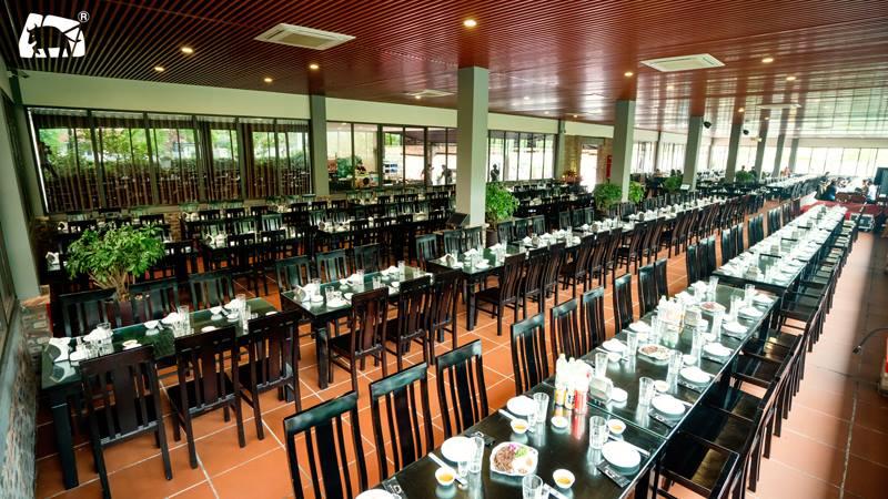 Không gian cực CHẤT, sảnh chính nhộn nhịp với sức chứa trên 1000 khách