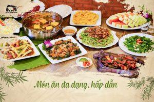 Trâu Ngon Quán món ăn đa dạng hấp dẫn