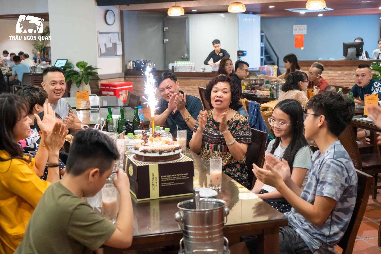 Trâu Ngon Quán điểm đến lý tưởng cho bữa tiệc sinh nhật của Quý khách hàng
