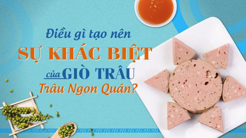 Giò trâu Trâu Ngon Quán