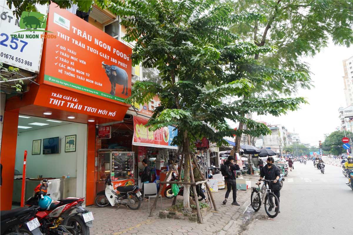 TRÂU NGON FOODS TRẦN ĐẠI NGHĨA Địa chỉ Số 259 Trần Đại Nghĩa, Hai Bà Trưng, Hà Nội