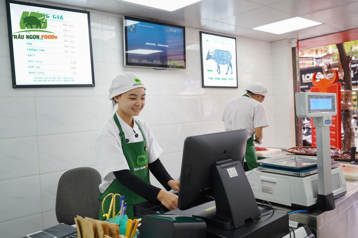 TRÂU NGON FOODS QUỲNH MAI Địa chỉ Số 110-C8 TT Quỳnh Mai, Đường 8/3, Hai Bà Trưng, Hà Nội